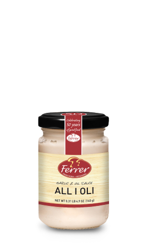 FERRER GARLIC OIL SAUC ALLIOLI