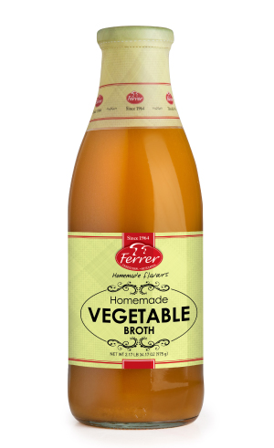 FERRER HOMEMADE VEGETABLE BROTH