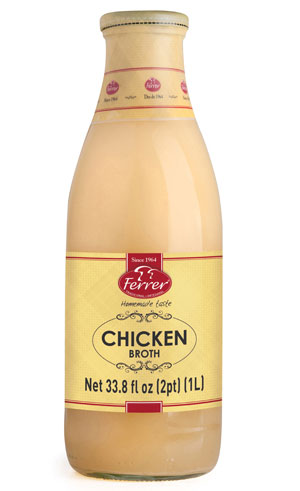 FERRER CHICKEN BROTH 1L
