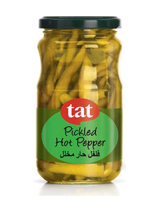 TAT Hot Pickled Pepper 330gram Jar