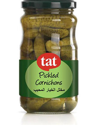 TAT – Pickled Cornichons 680gram  Jar