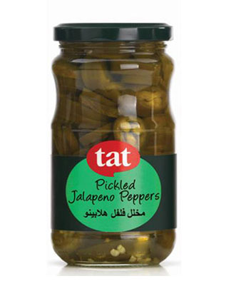 TAT Pickled Jalapeno Peppers 330gram Jar