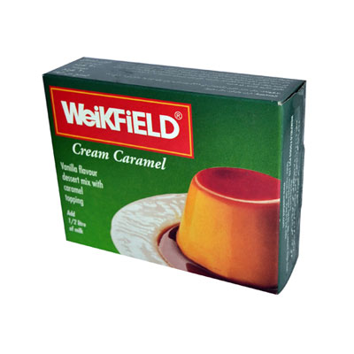 WeiKFiELD Caramel Custard