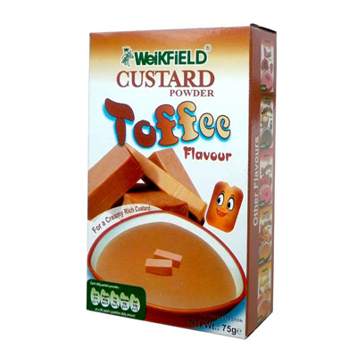 WeiKFiELD Toffee Custard